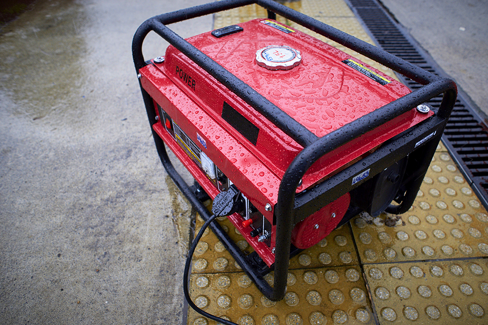 How To Run a Portable Generator in Wet Weather, Rain or Snow with a Cover or Tent